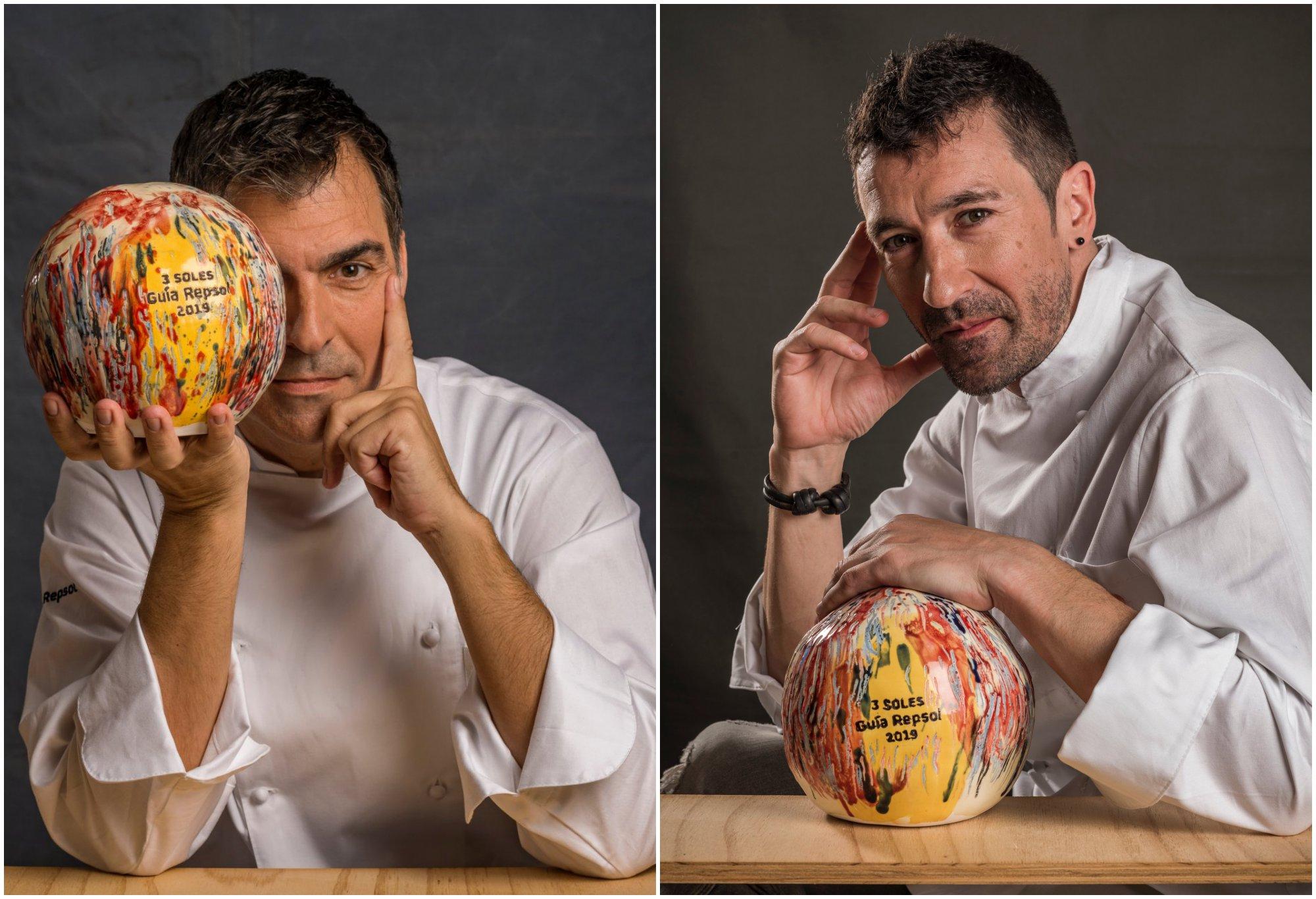 Los 3 Soles Guía Repsol: Ramón Freixa ('Ramón Freixa Madrid) y Eneko Atxa ('Azurmendi')