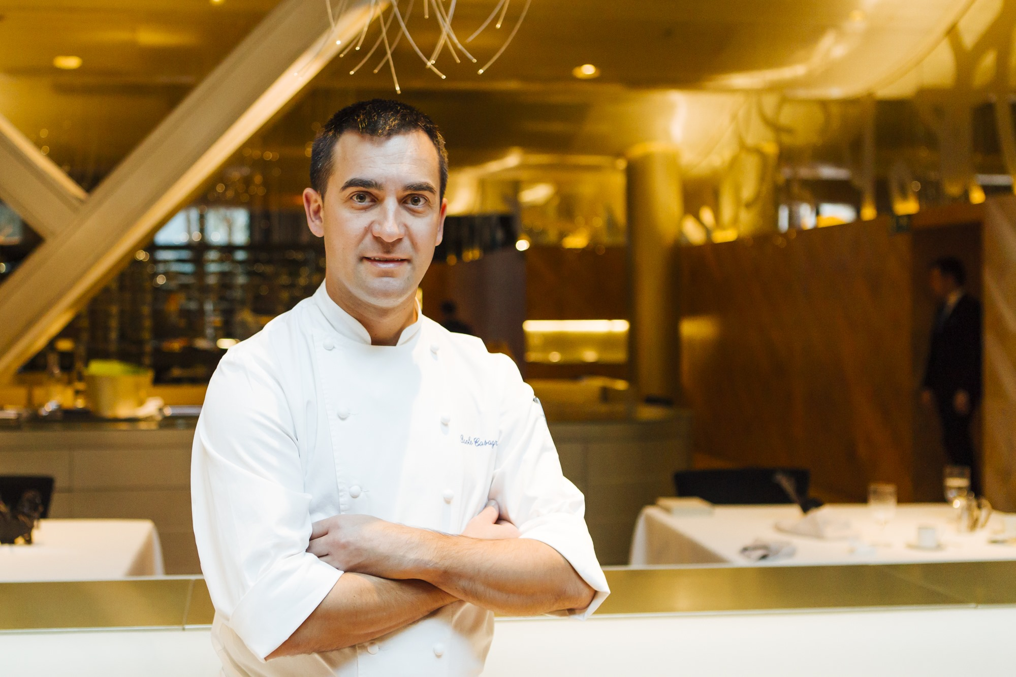 Paolo Casagrande, jefe de cocina del restaurante de Berasategui.
