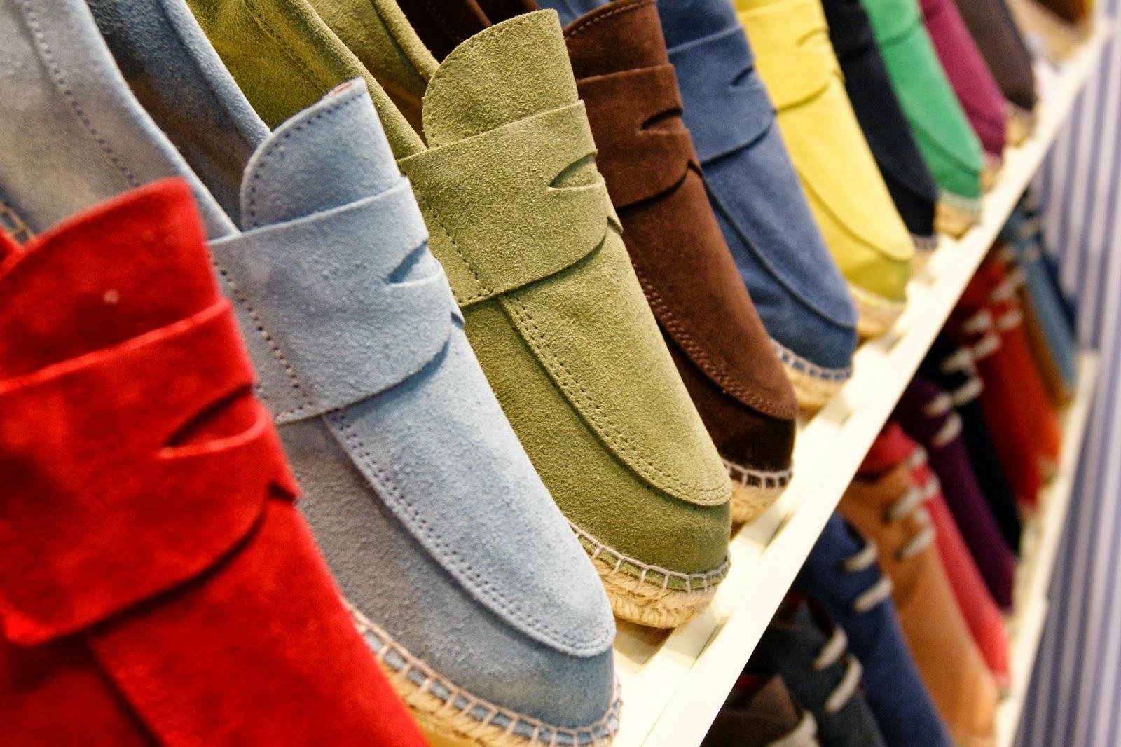 La mezcla perfecta entre mocasín y alpargata, en diferentes colores para elegir. Foto: Abarca Blogspot.