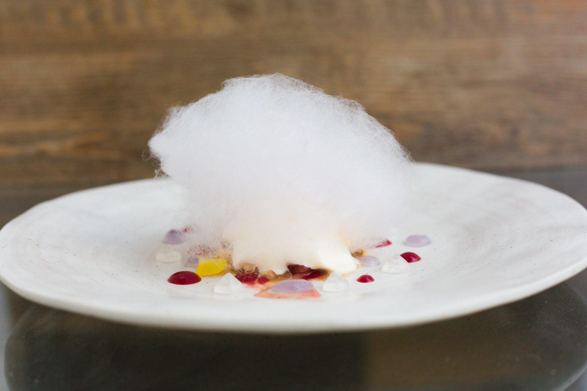 Restaurante 'Es Ventall': postre Esencia Floral