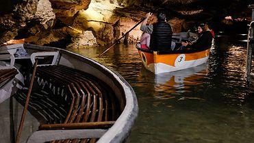 Las cuevas de San José: el espectáculo de las grutas