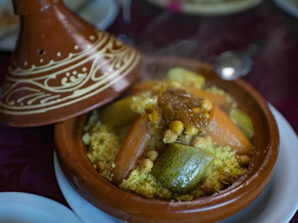 'Oasis': restaurante de cocina marroquí de Malika (Ceuta)