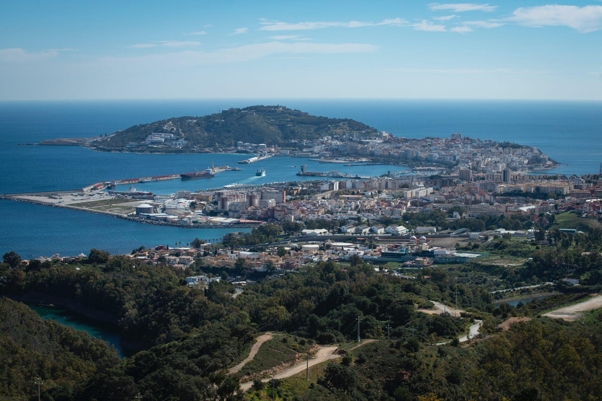 Miradores de Ceuta: vistas de la ciudad autónoma desde el Mirador de Isabel II