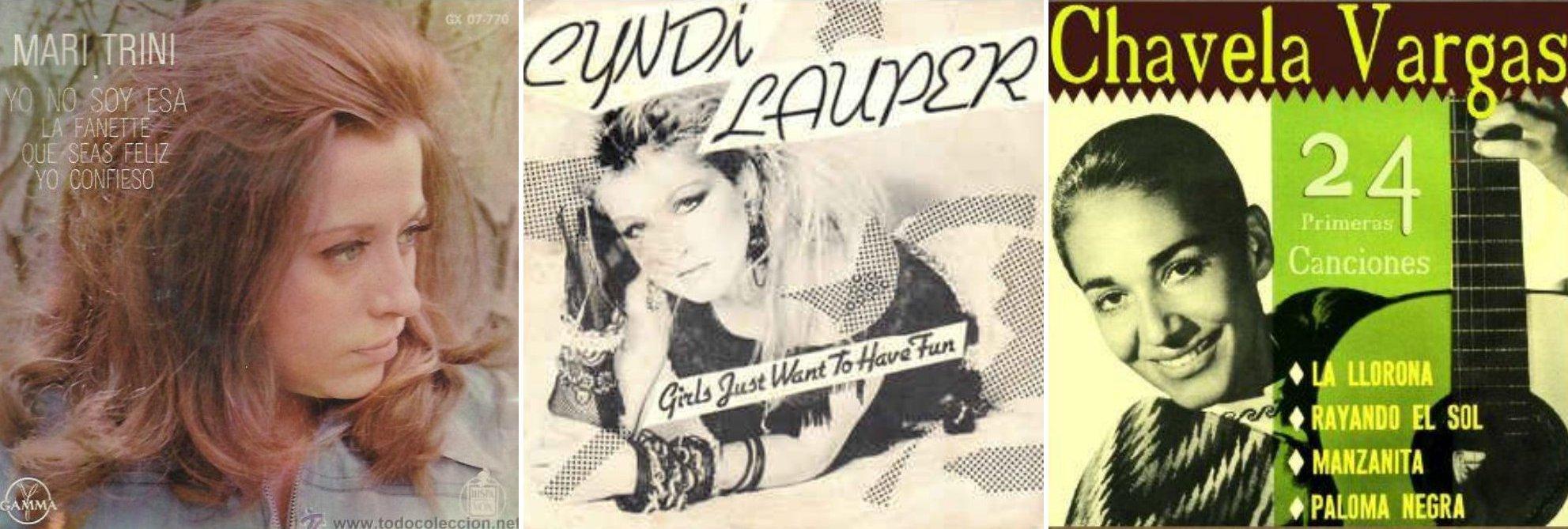 Cover de álbumes de mujeres cantantes (3)