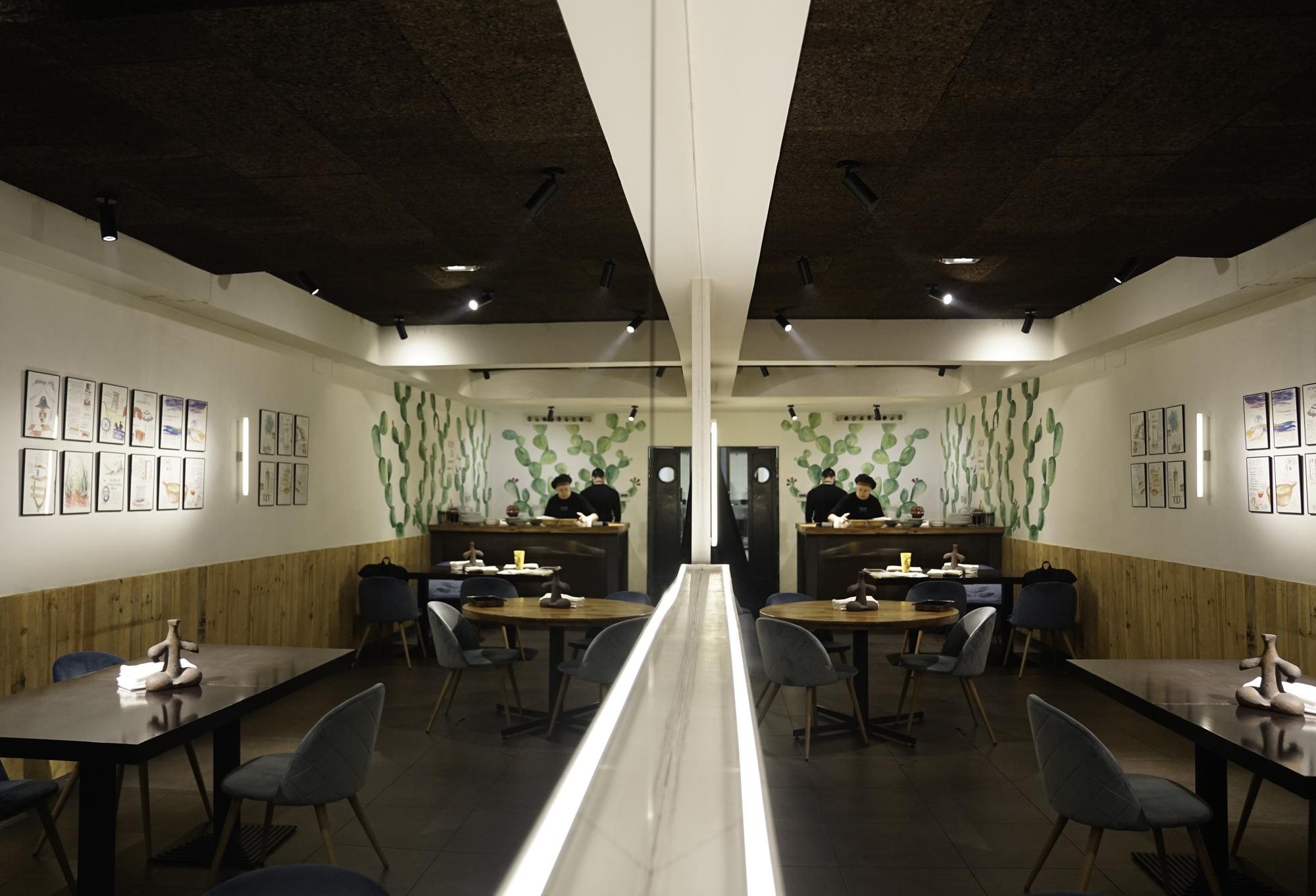 Apenas un puñado de mesas y otra localización han dado una nueva vida a 'Gofio'.