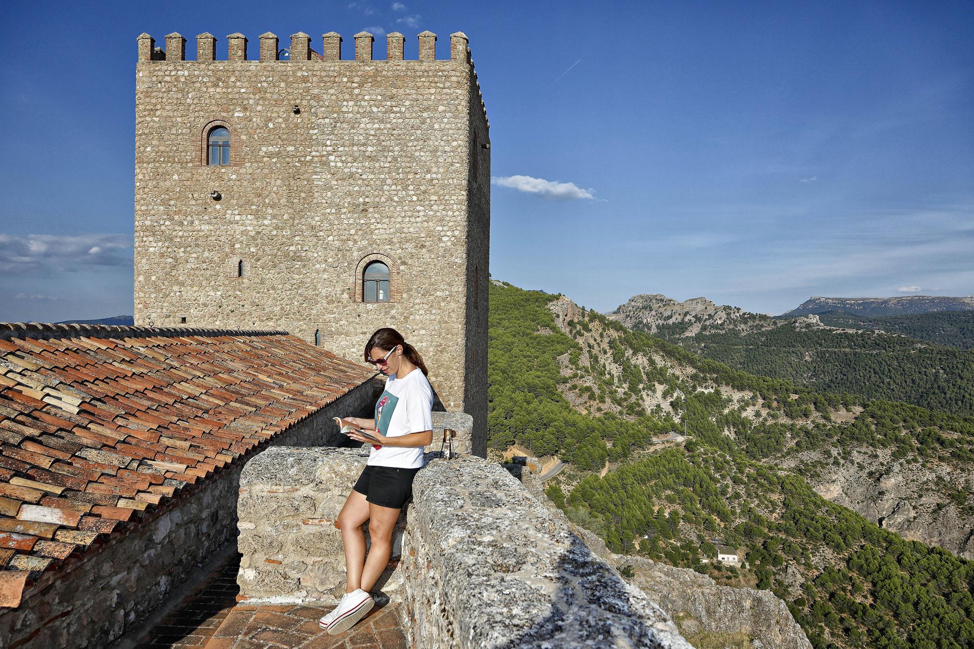 Vistas desde el castillo de Segura de la Sierra, Jaén
