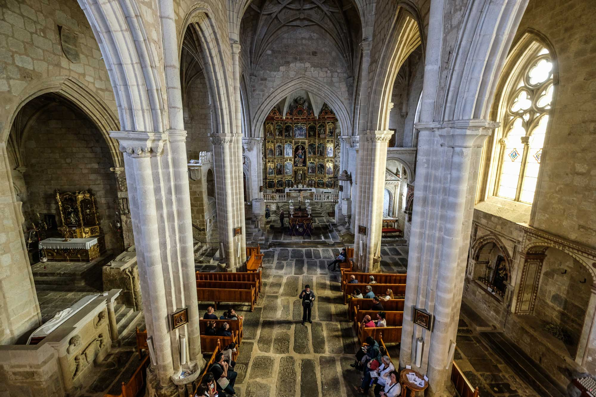 Interior de la Iglesia Santa María la Mayor, Trujillo, Cáceres.