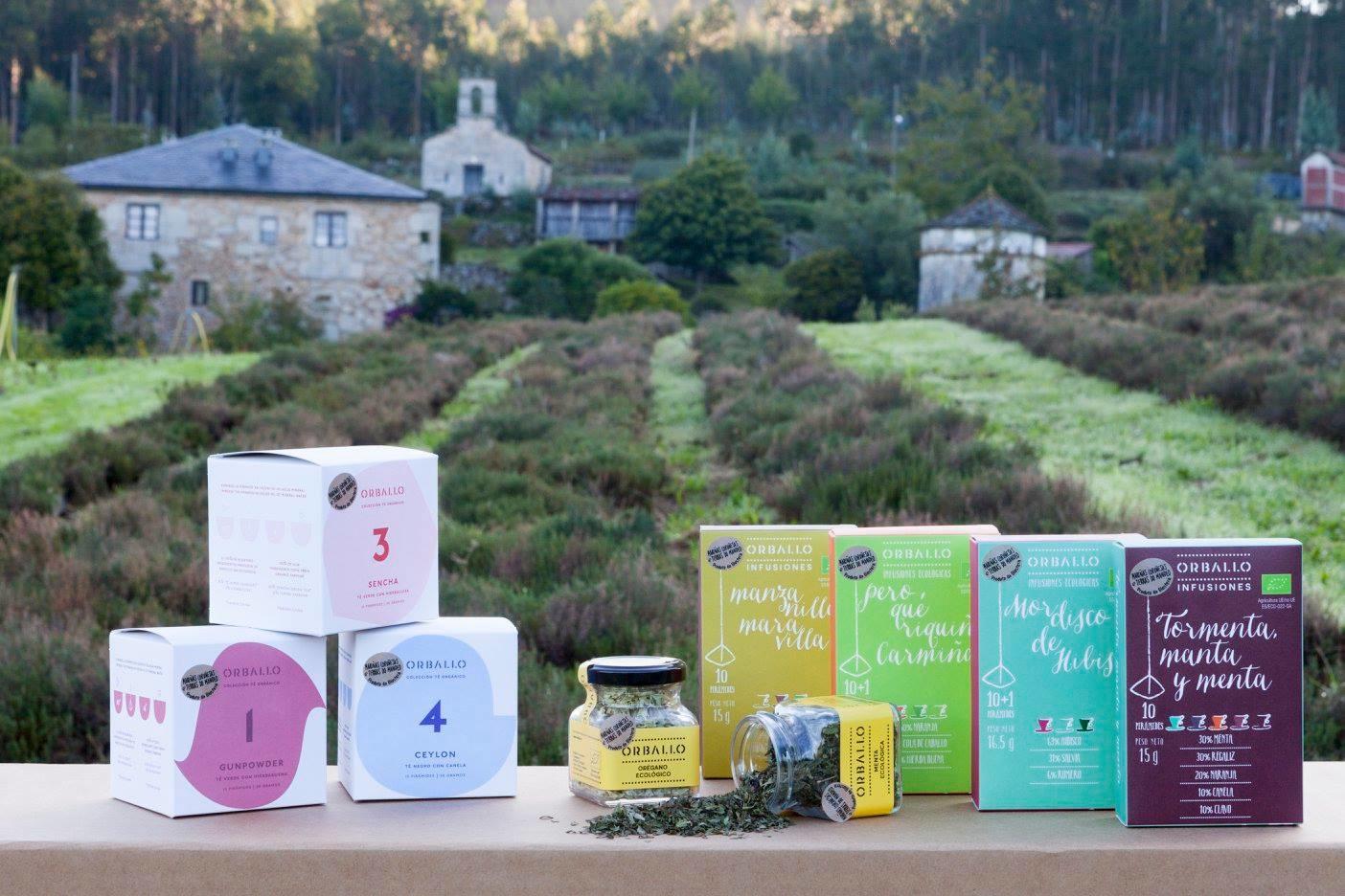 Cada vez son más las empresas que se lanzan a comercializar sus hierbas en prácticos formatos. Foto: Facebook Orballo.