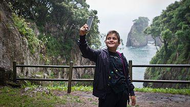 Carreteras para perderse: Ruta de Muñorrodero a la Cuevona | Selfies