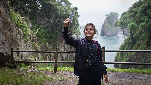 Carreteras para perderse: Ruta de Muñorrodero a la Cuevona   Selfies
