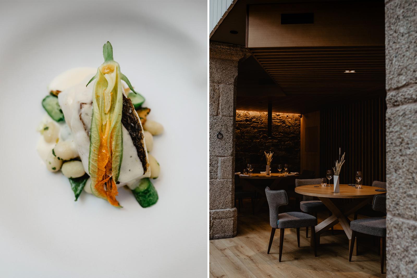 En 'A Tafona' prima el pescado, las verduras y la tradición gallega.