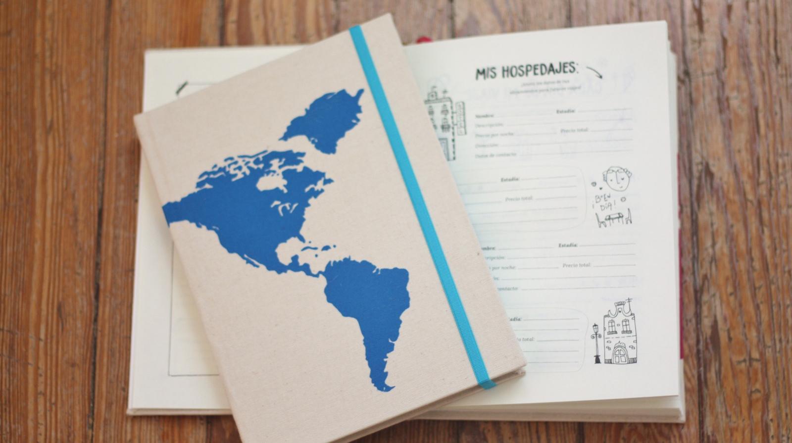 Para los que hacen de cada viaje una aventura sobre la que escribir. Foto: Muchos Mundos.