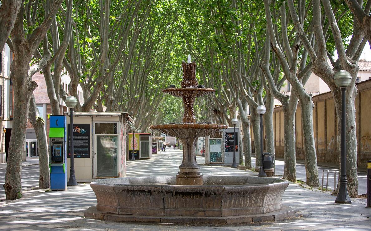 Mallorca vacía: Las Ramblas de Palma