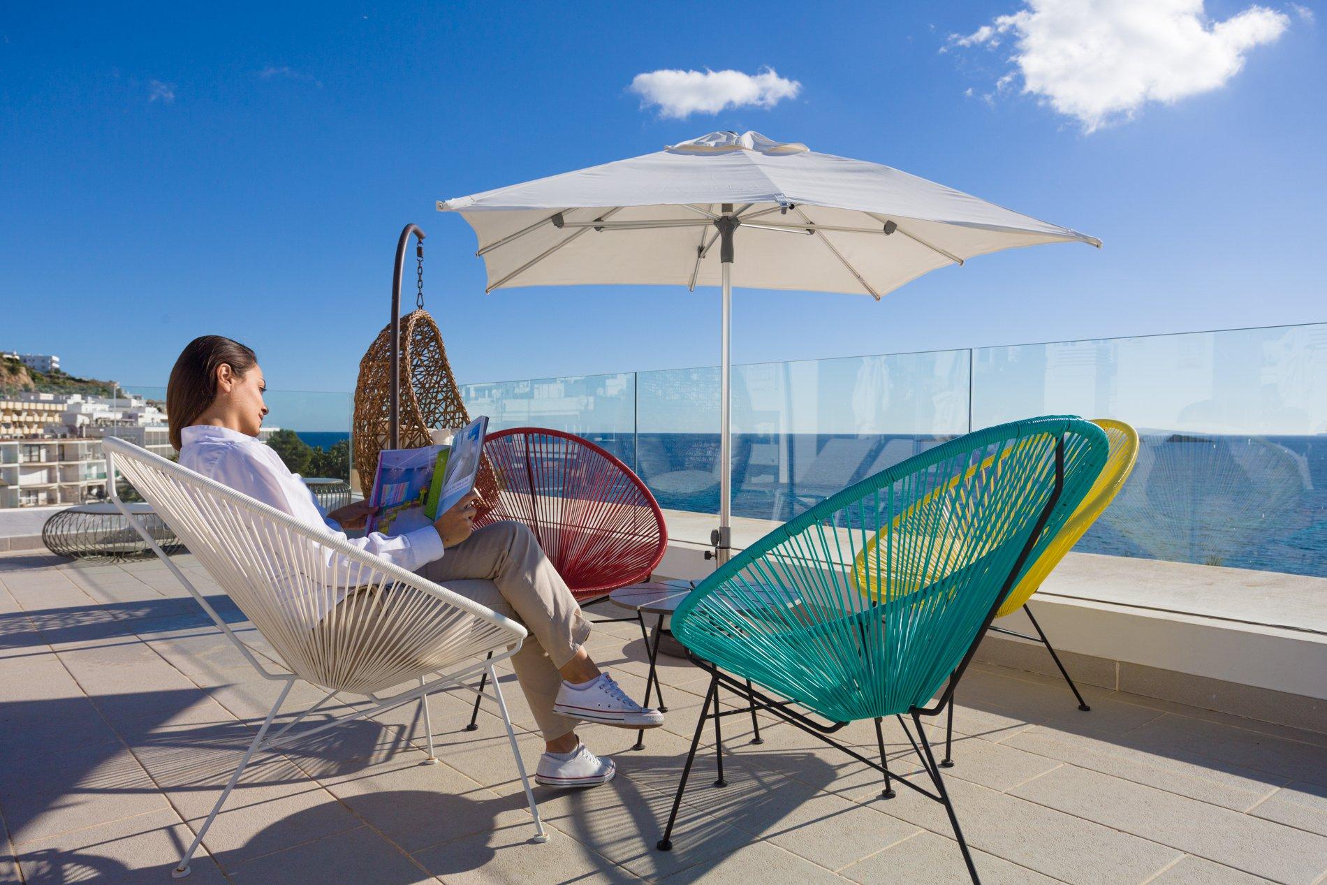 Apartamentos Sub Ibiza Suites - Azotea y solarium