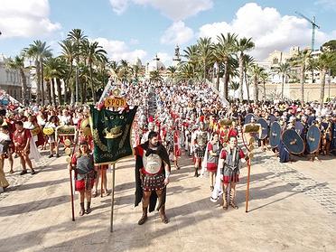 Fiesta de Carthagineses y Romanos: información práctica