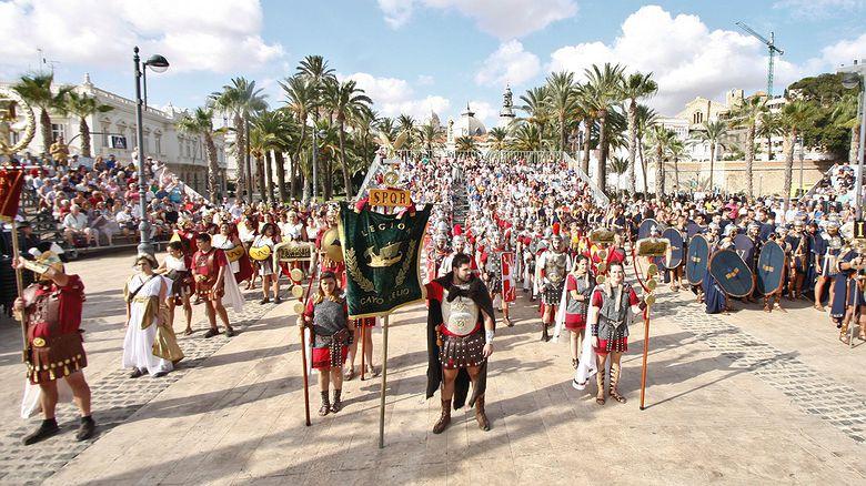 Fiesta de Carthagineses y Romanos (Cartagena, Murcia)