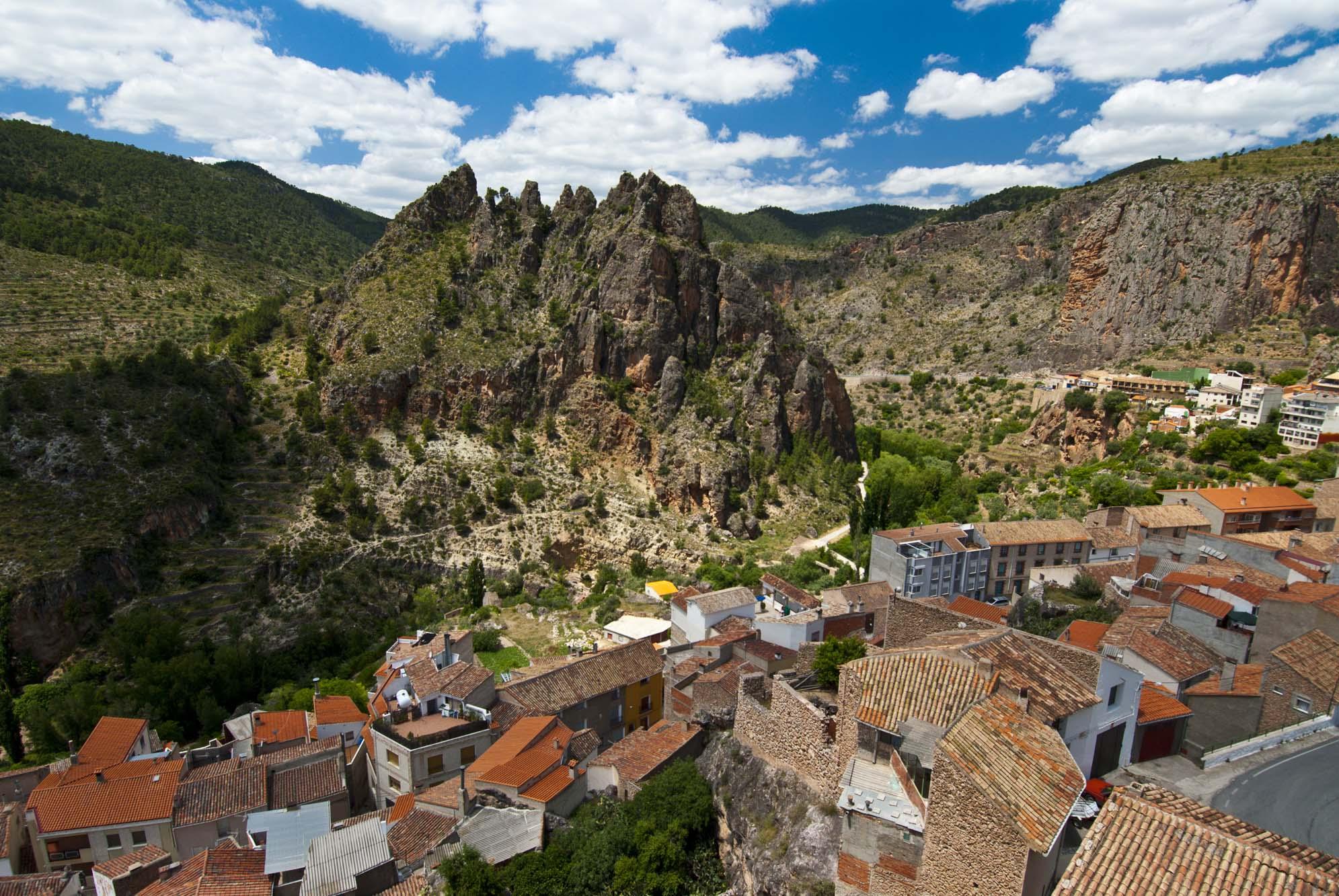 Vista de la localidad de Ayna. Foto: Shutterstock.