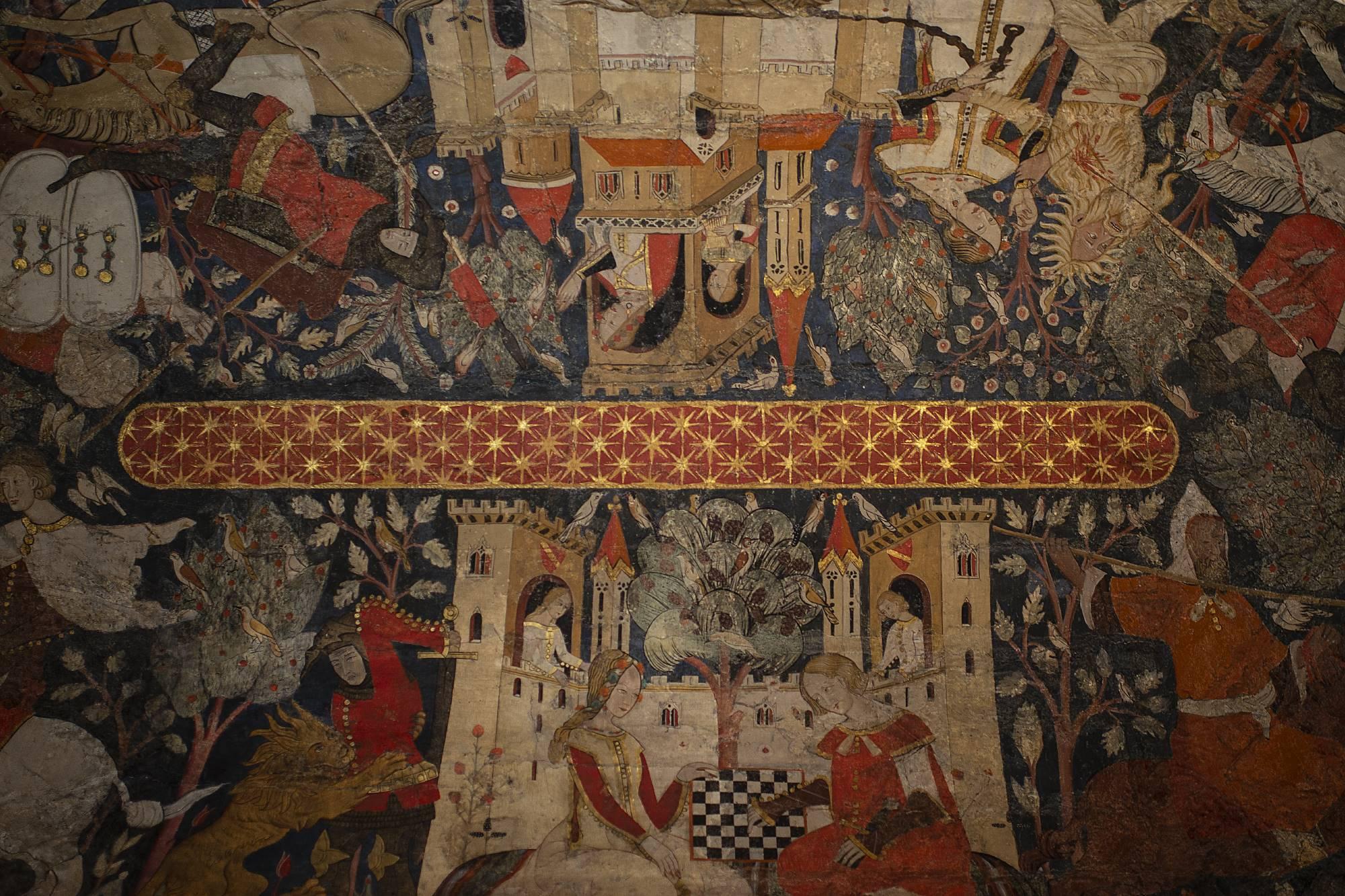 Pintura de Bóveda Sur.