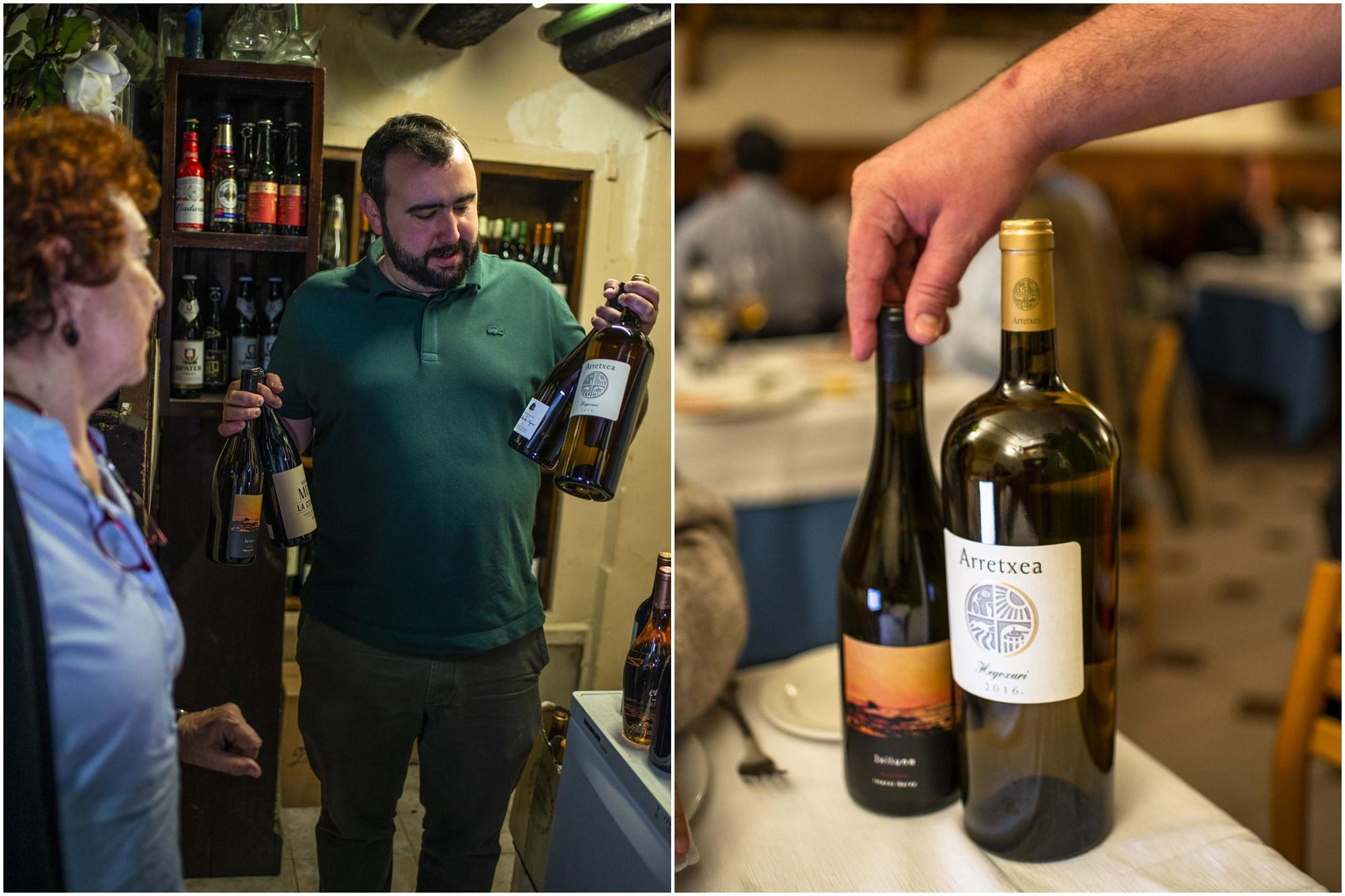 Arretxea, cultivo ecológico y biodinámico, ejemplo de los vinos con los que Amaiur ha dado un giro a la carta.