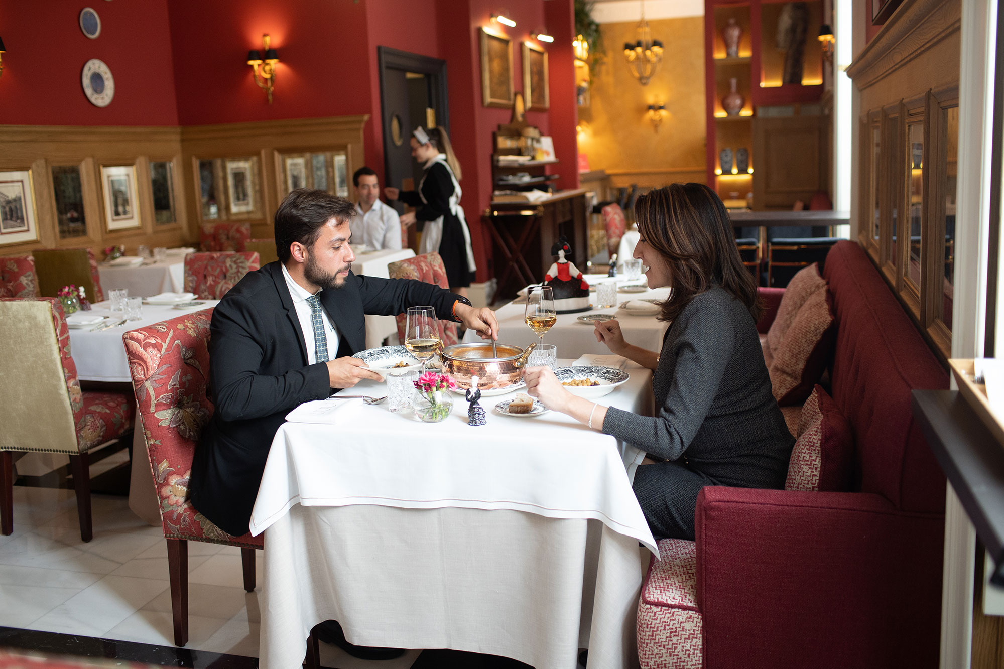El restaurante del hotel está abierto a todo el mundo.
