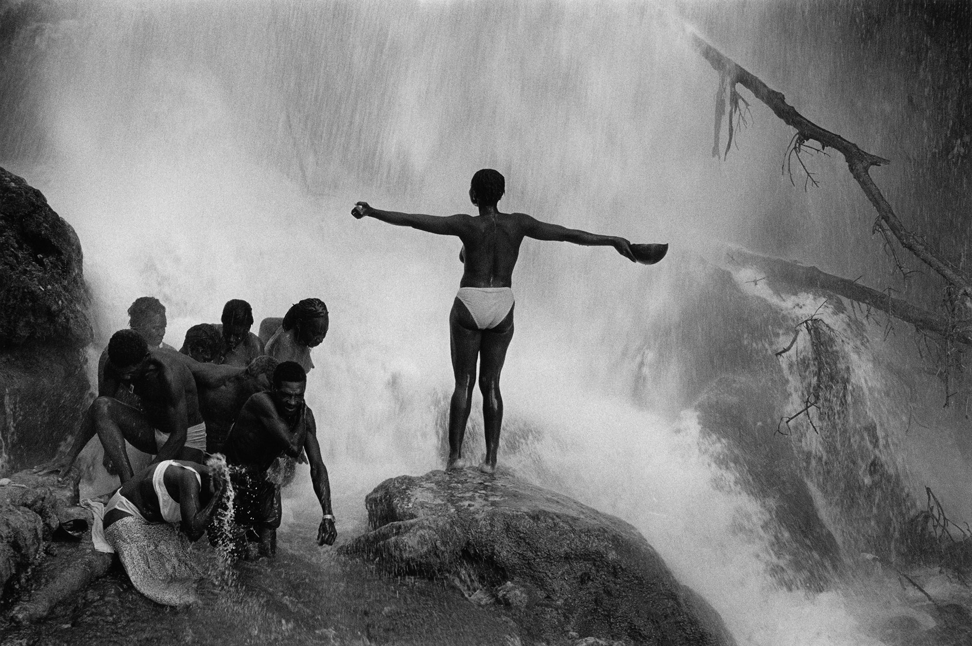 El agua suele ocupar un papel protagonista en su obra. © Cristina García Rodero/Magnum Photos/Contacto