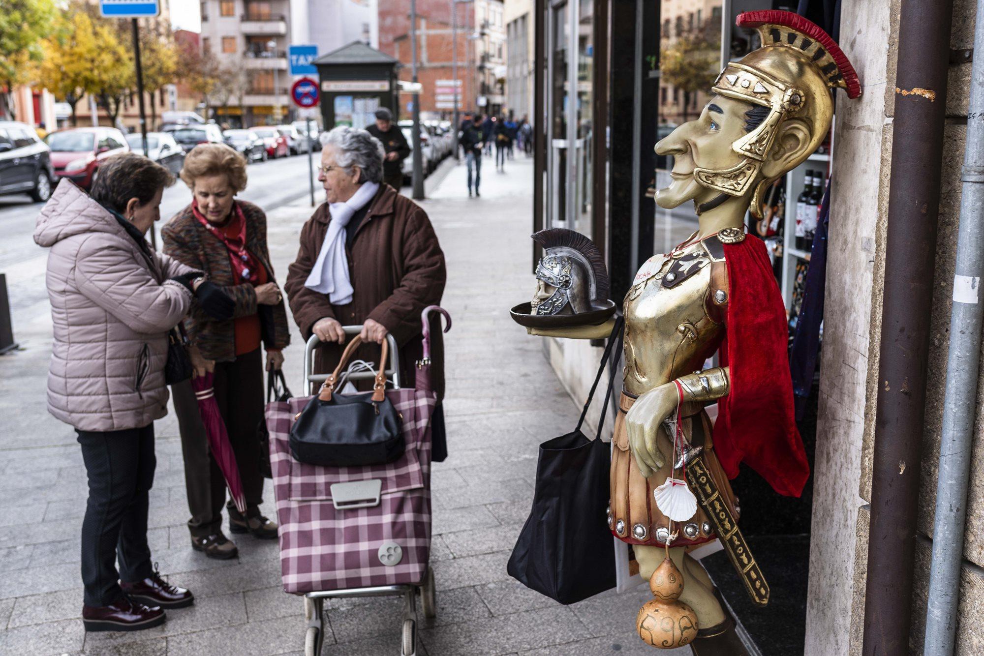Astorga intentó ser una aldea gala del siglo XIX y ahí queda eso.