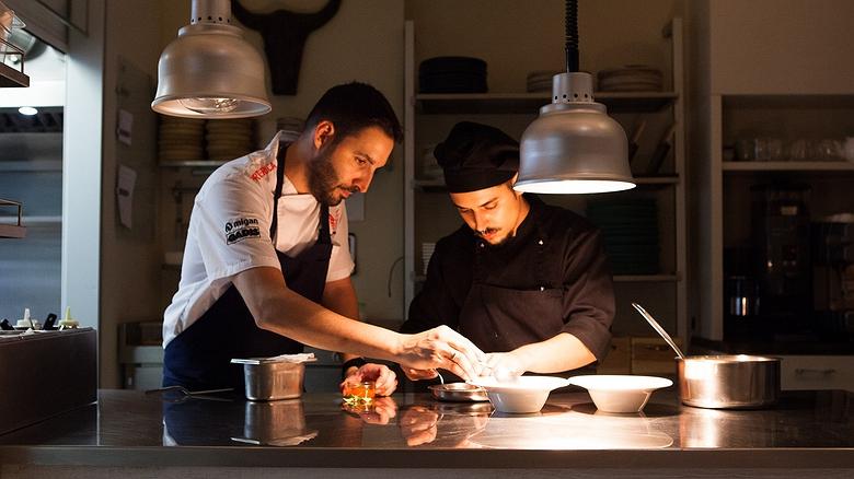 Restaurante 'Nova' (Ourense): comida que desafía la prima de riesgo