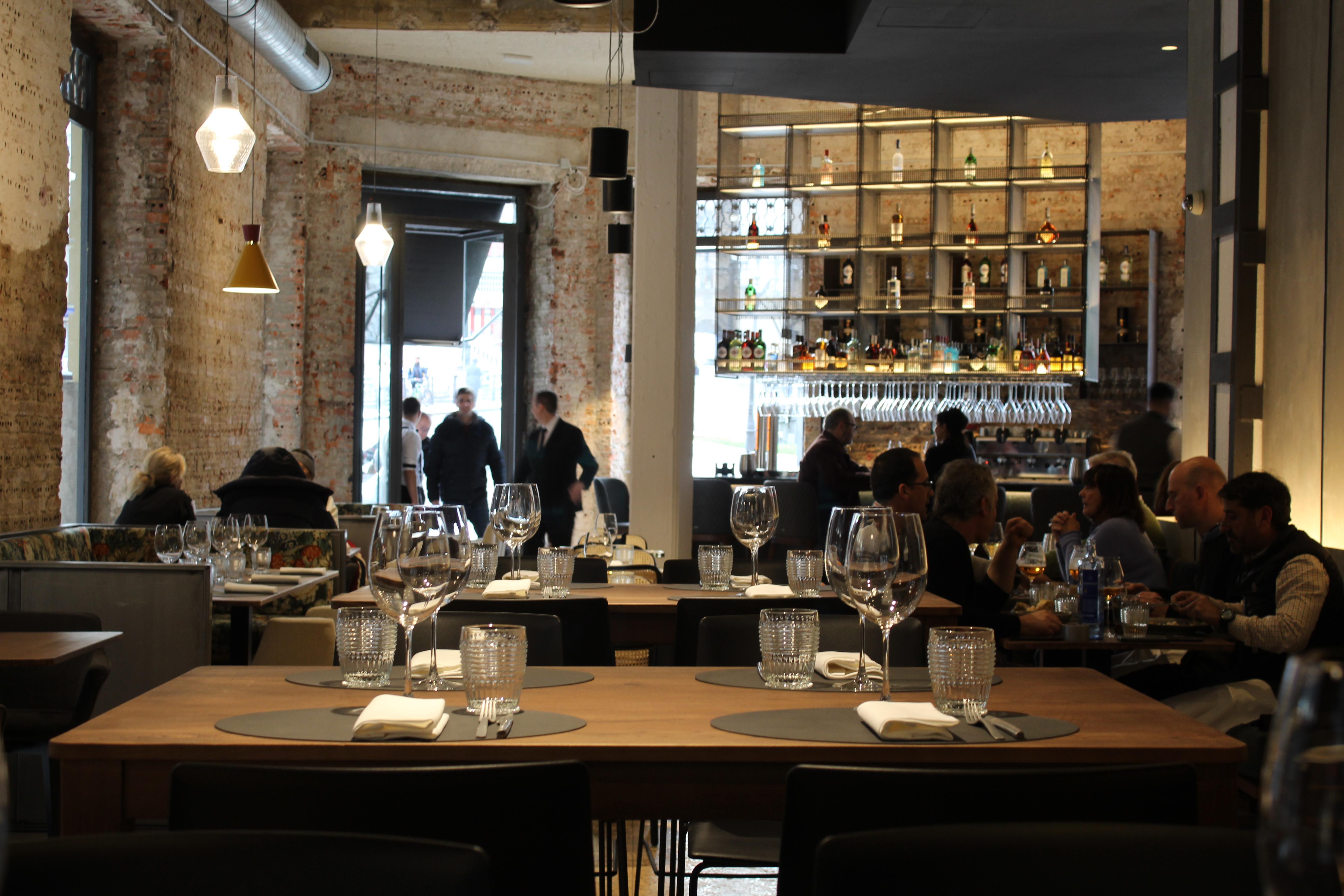 Lo nuevo de Berasategui se ubica en la planta baja de 'Hotel Tayko'. Foto: 'Patri Gastrobar'.