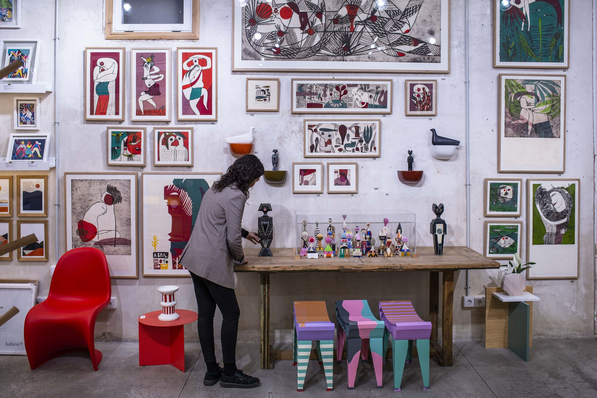 'El Moderno' es una de las tiendas de referencia en Malasaña.