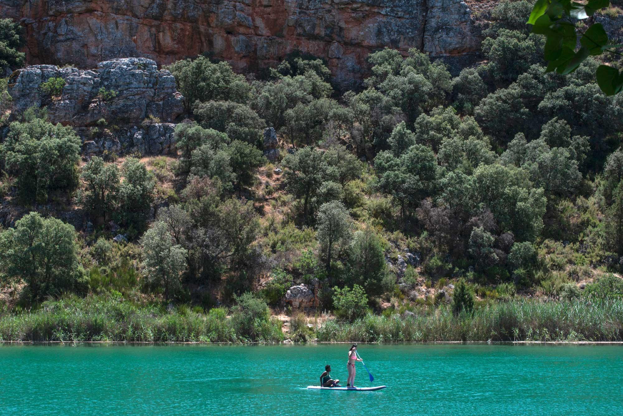 Parque Natural De Las Lagunas De Ruidera Ciudad Real I Albacete