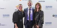 Photocall Gala Soles Guía Repsol - Begoña Rodrigo, Pepe Solla