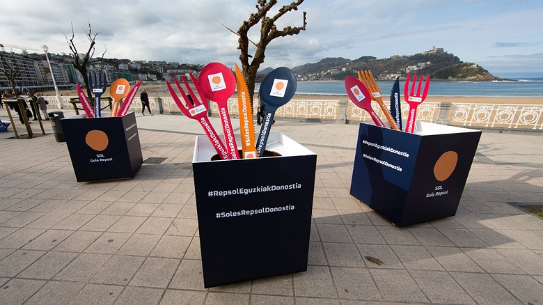 Actividades previas a la Gala Soles Guía Repsol en San Sebastián