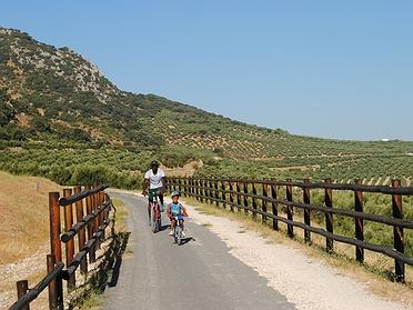 Ruta en bicicleta por la Vía Verde del Aceite (Córdoba)