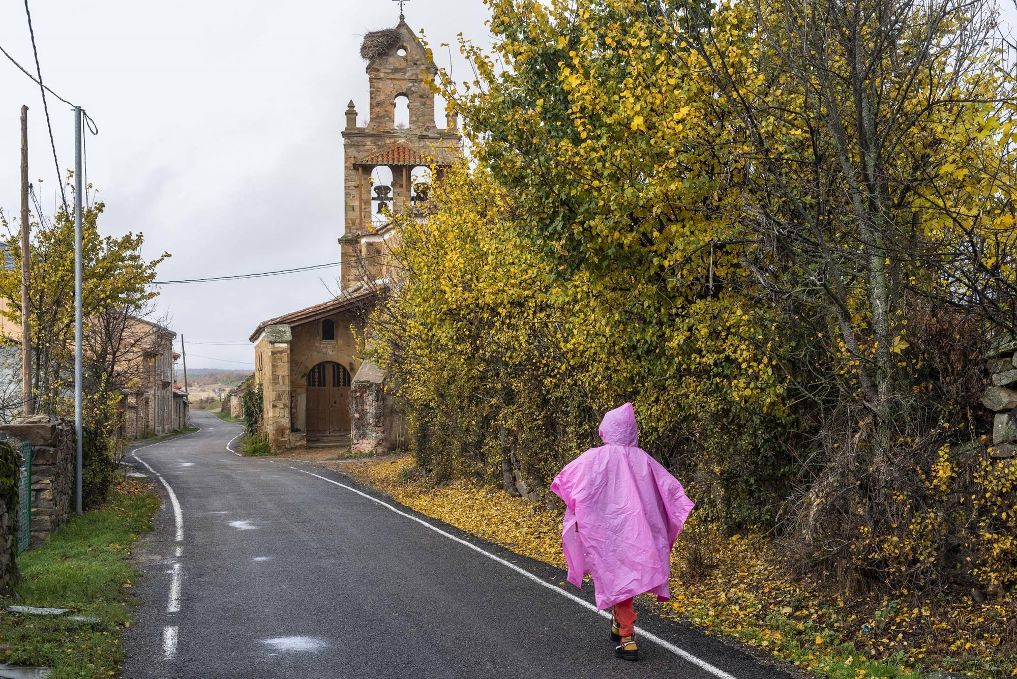 El Ganso, en el Camino de Santiago.