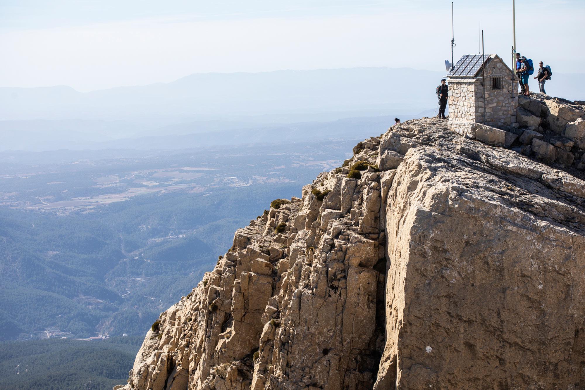 Ruta Penyagolosa (Castellón) - Cima de la montaña