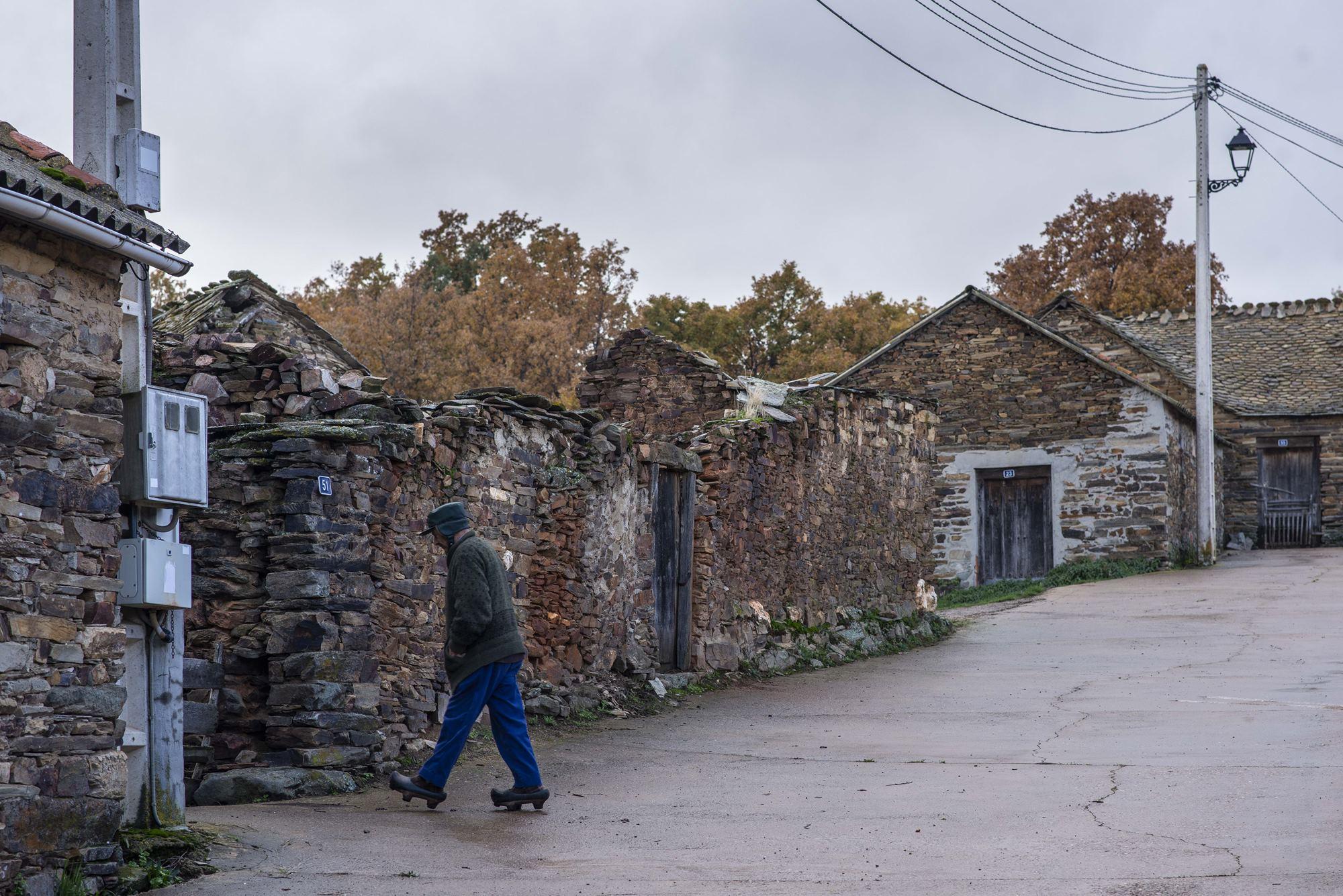 Lucillo, la parte alta de la maragatería, bien diferente a Castrillo.