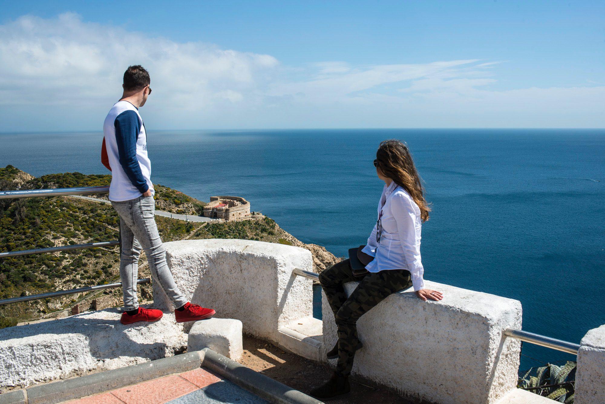 Miradores de Ceuta: mirador del Desnarigado
