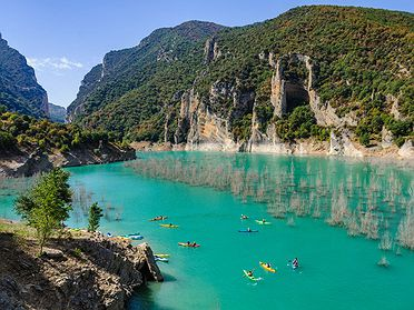 Rutas en kayak por Cataluña