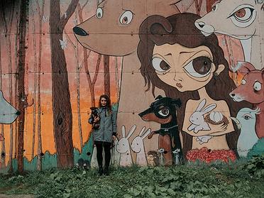 Ruta por el 'street art' rural en Ordes (A Coruña)