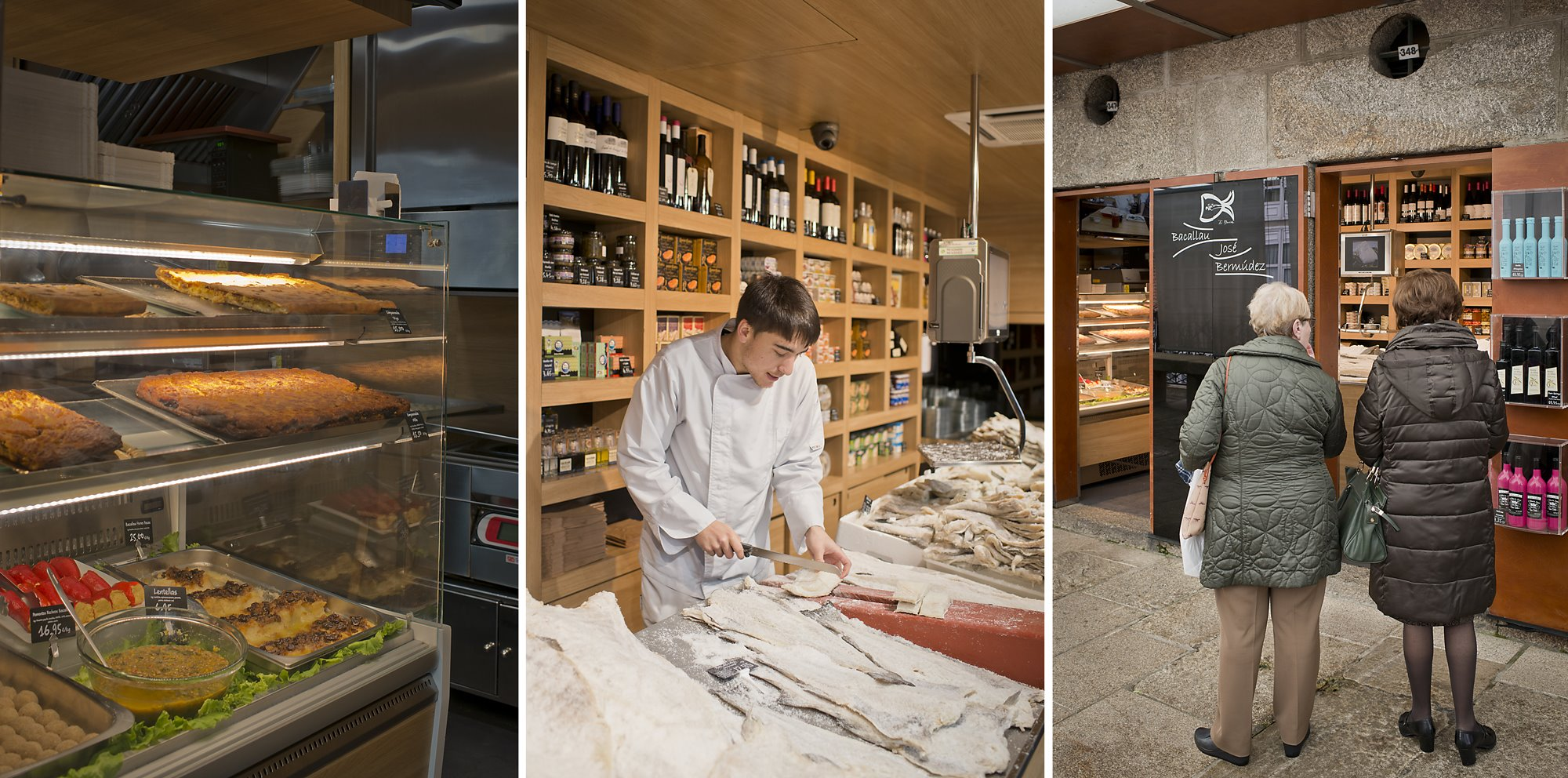Para quien lo prefiera ya cocinado, también hay guisos y diversas preparaciones.