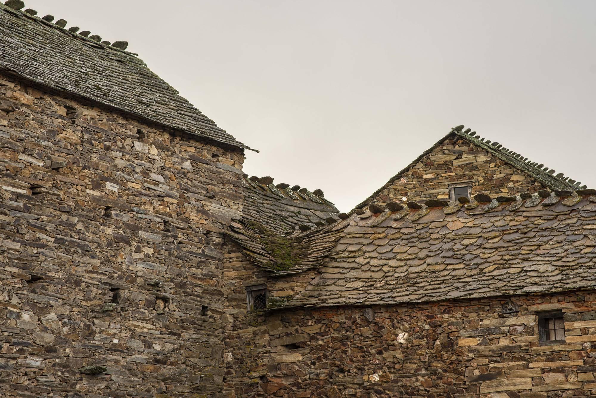 La arquitectura de las faldas del monte Teleno es un clásico leonés.