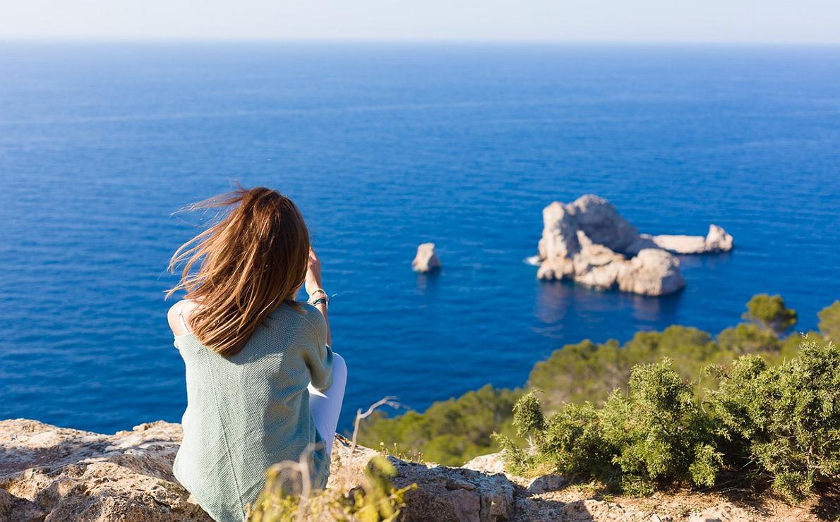 El mirador de Las Puertas del Cielo (Ibiza)