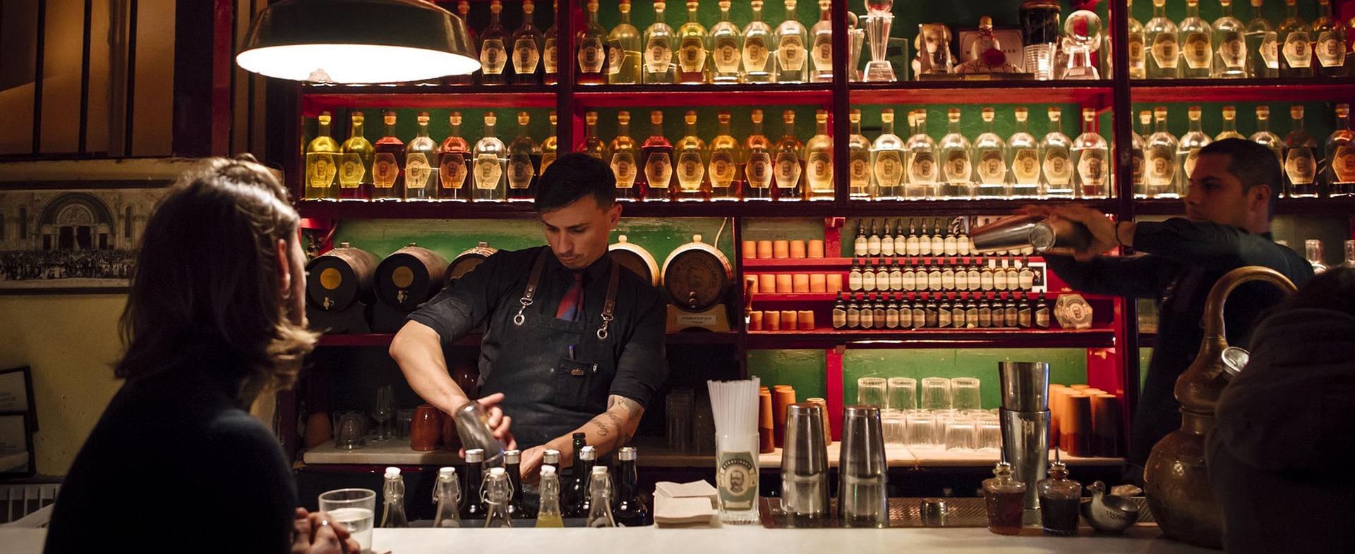 'Dr. Stravinsky': la mejor coctelería está en Barcelona
