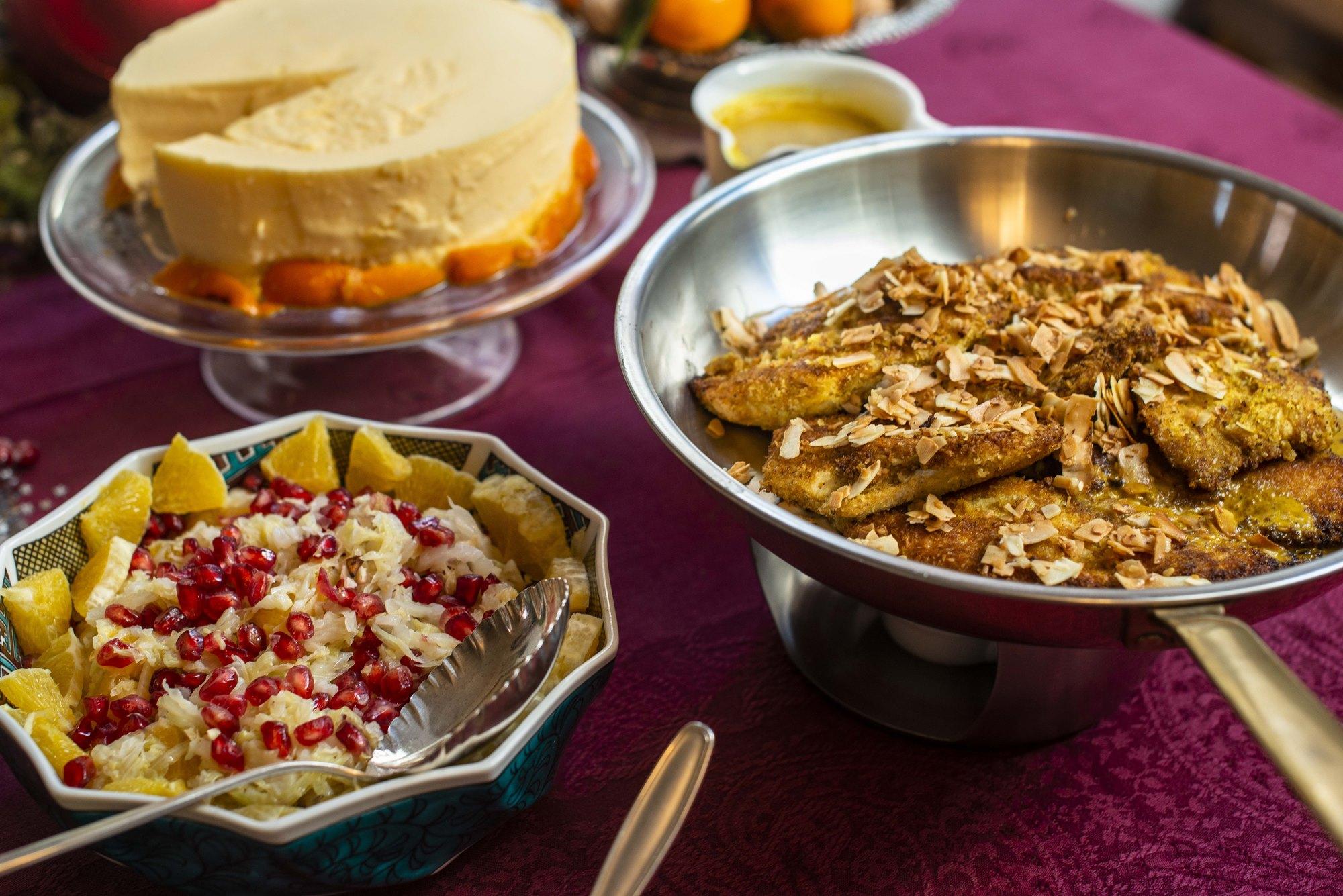 Es importante que los platos sean variados, desde ensaladas hasta algún tipo de carne.