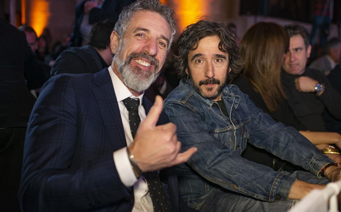 Gala Soles Guía Repsol 2020. Pepe Solla y Diego Guerrero.
