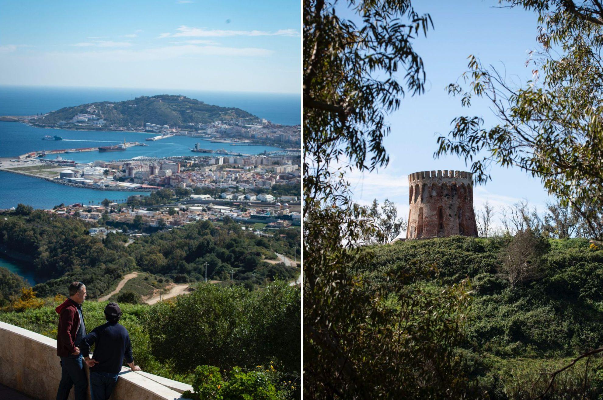Mirador de Ceuta: Vistas desde Isabel II