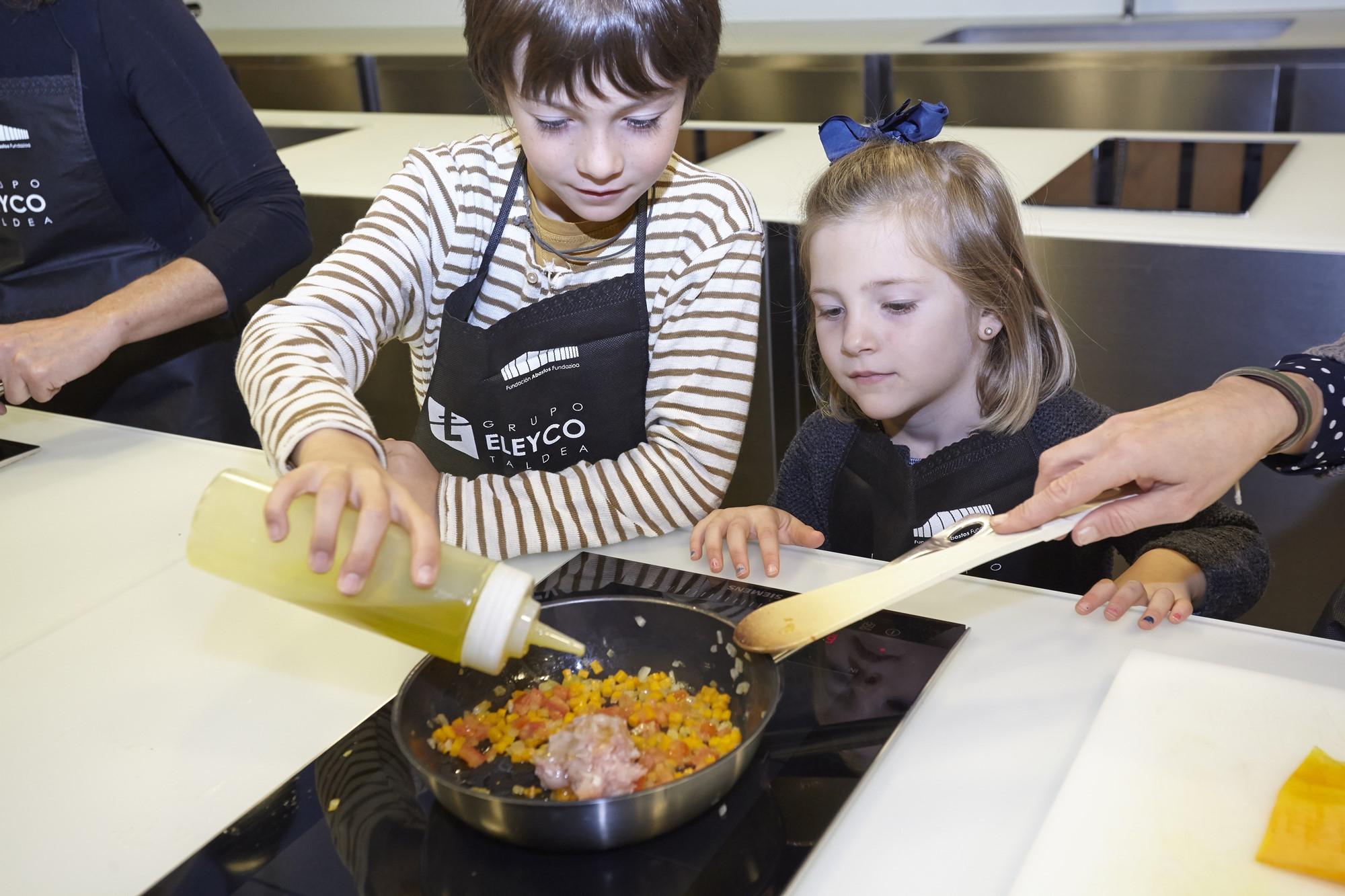 curso cocina niños mercado abastos vitoria