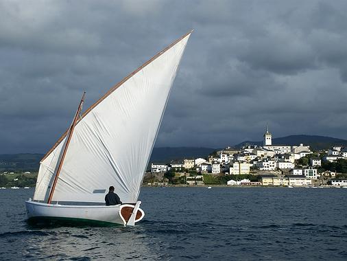 Ruta en velero por la Ría de Eo