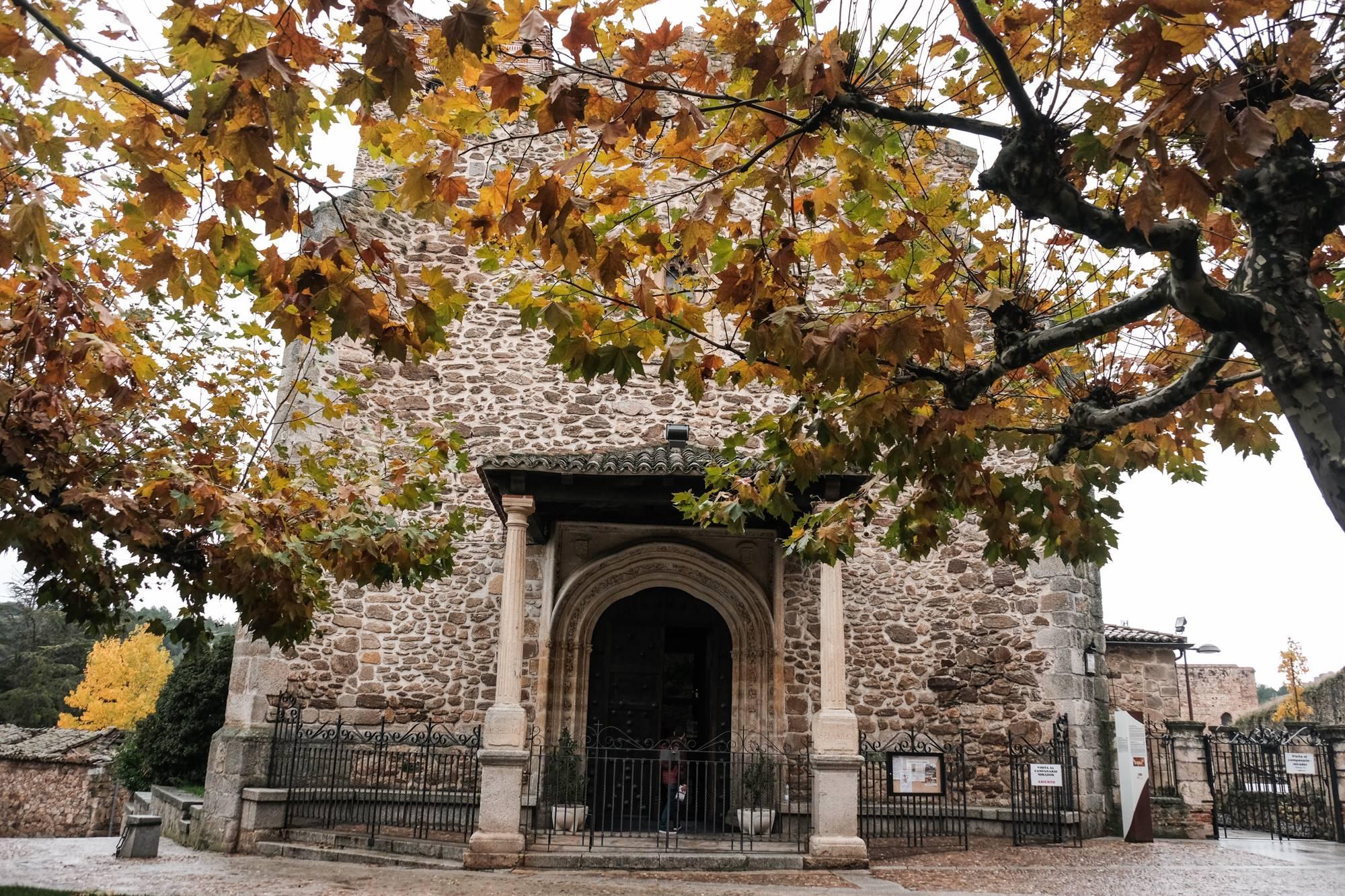 Iglesia de Santa María del Castillo, la única en pie de las cuatro que se llegaron a construir en Buitrago del Lozoya.