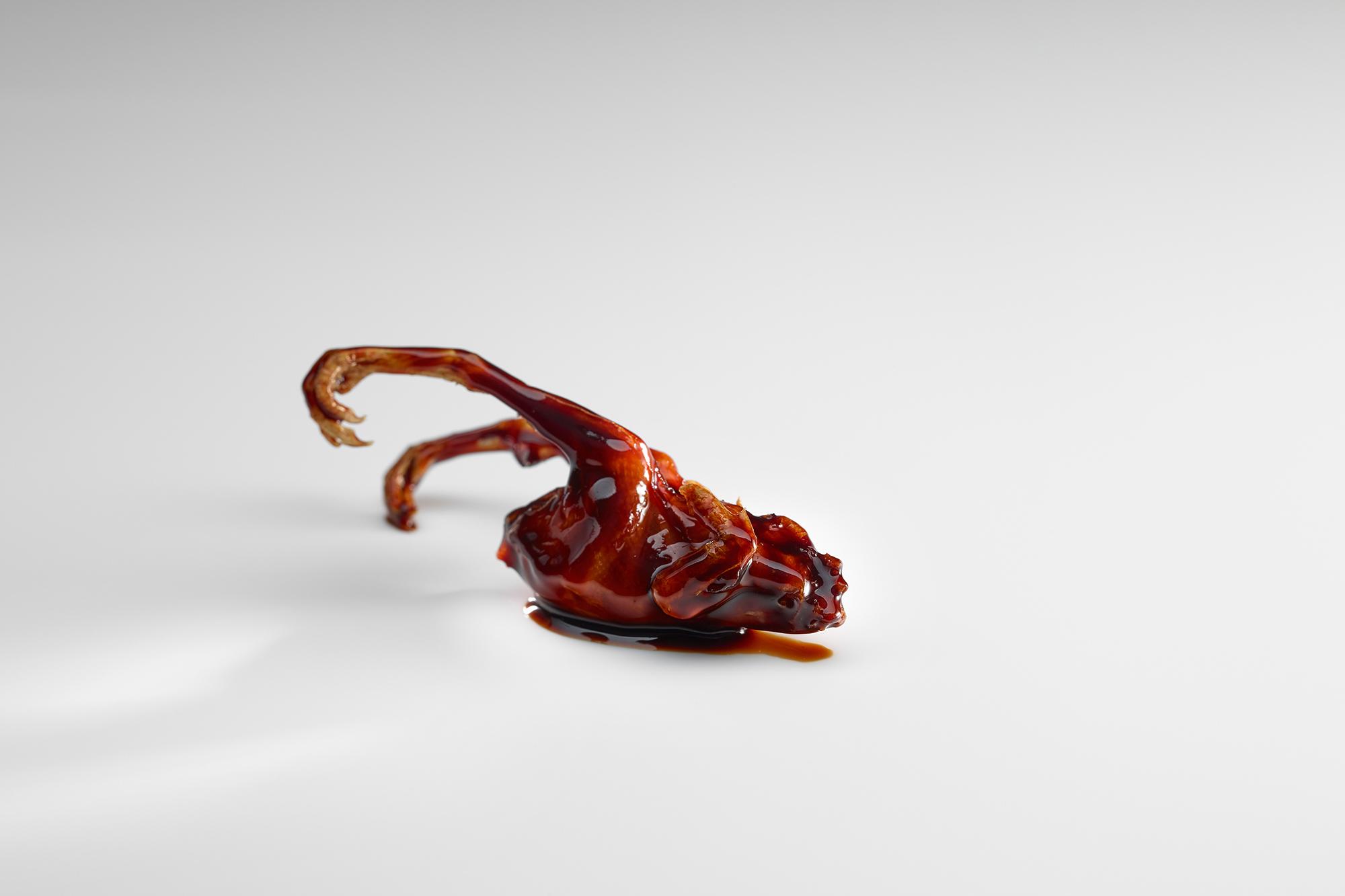 Este plato jamás salió de I+D.  Foto: Mugaritz.